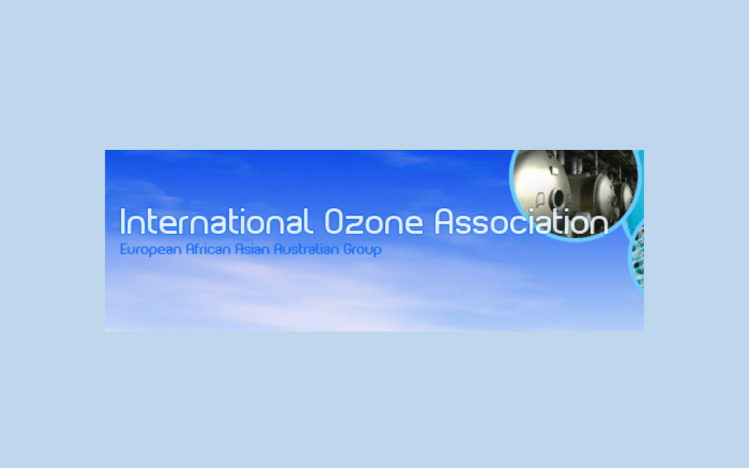 ESTUVIMOS EN EL CONGRESO DE LA INTERNATIONAL OZONE ASSOCIATION