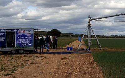 Trabajos en Castilla-La Mancha: ¡2 máquinas trabajando en paralelo!