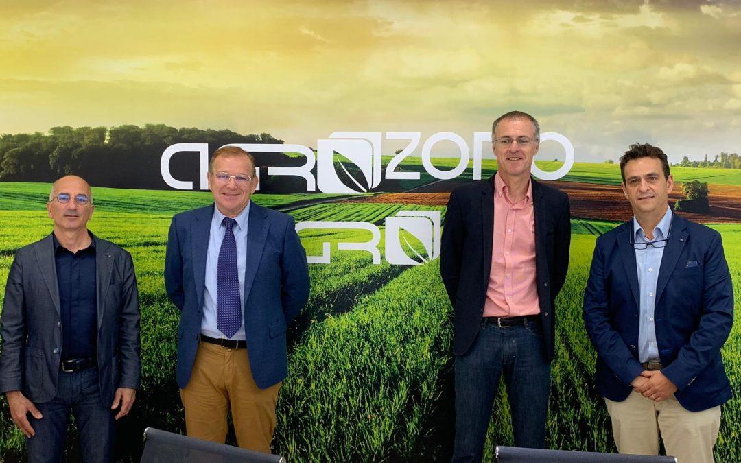 Jornada de visita del presidente del Grupo De Sangosse a las instalaciones de AGROZONO-AGRO3