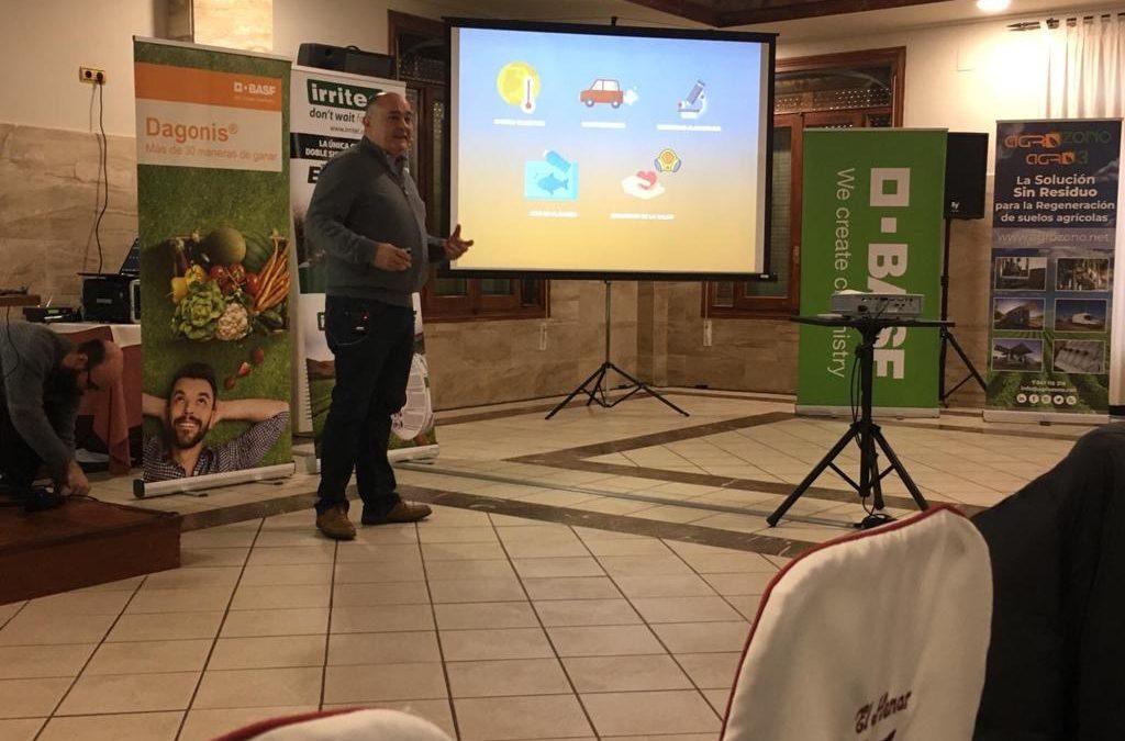 Resumen de ponencias del Congreso de Horticultura al Aire Libre de Cuellar