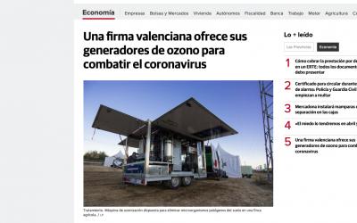 AGROZONO-AGRO3 aparece en el diario 'Las Provincias'