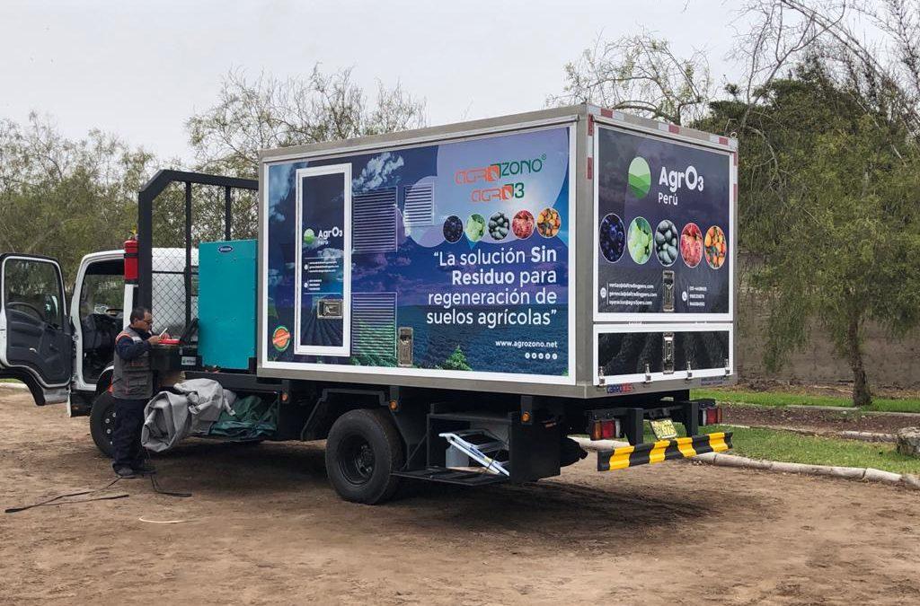 AGROZONO-AGRO3 inicia nuevos trabajos en Perú