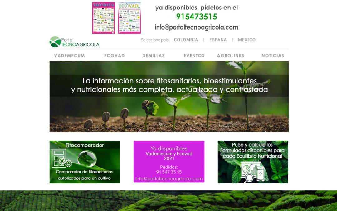 Un año más, AGROZONO-AGRO3 en Vademecum de Carlos de Liñán-Portal Tecnoagrícola